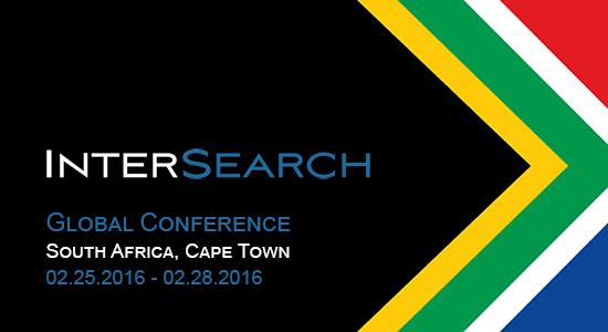Conferencia global 2016 de Intersearch