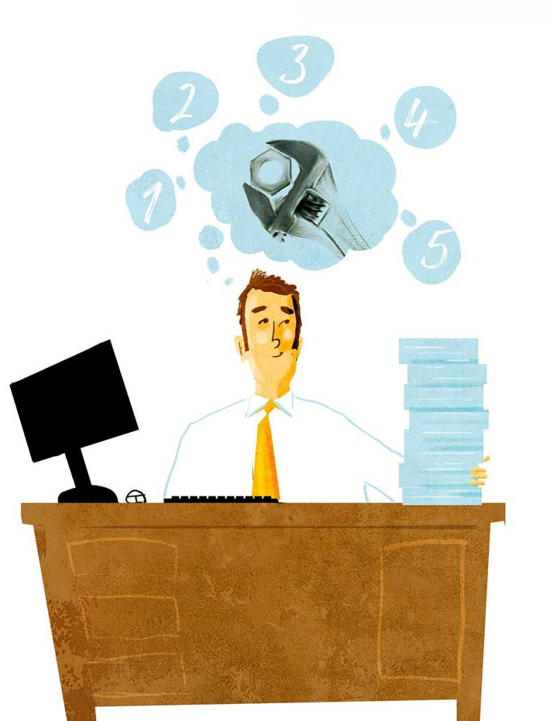 Si una persona se considera improductiva en el trabajo, no hay que asustarse, más que preocuparse debe ocuparse. Existen algunos tips para hacerlo y tener éxito.