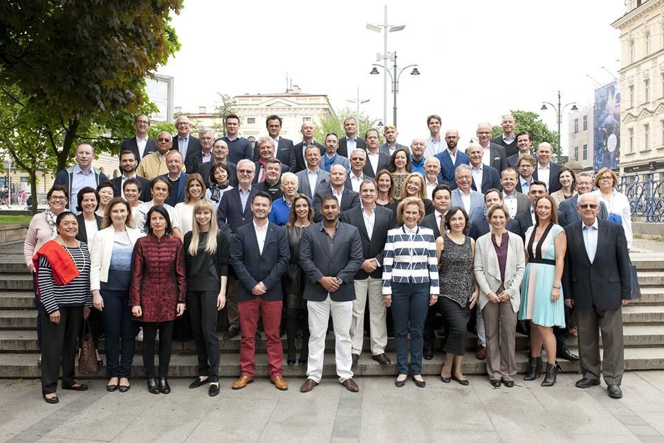 Al encuentro de InterSearch WorldWide asistieron 64 delegados de todo el mundo.